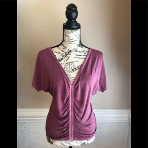 American Eagle Soft & Sexy Ruched Top